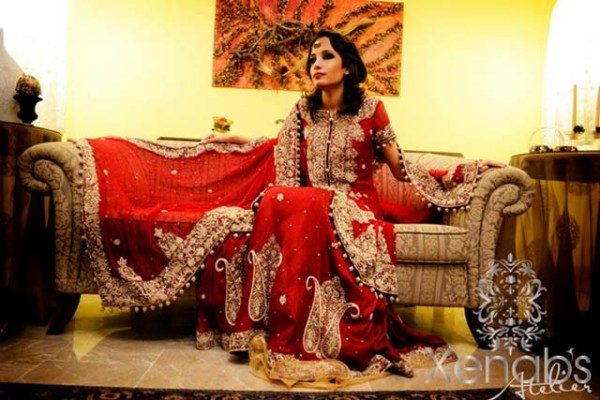 Eastern Bridal Outfit Ideas (14)