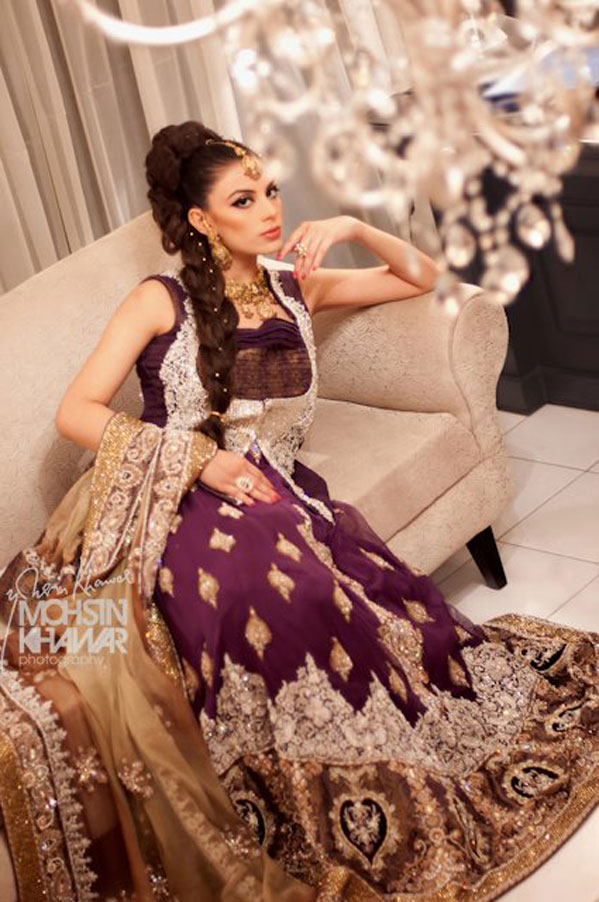 Eastern Bridal Outfit Ideas (9)