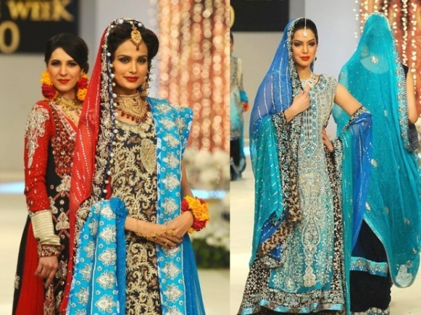 Eastern Bridal Outfit Ideas (3)