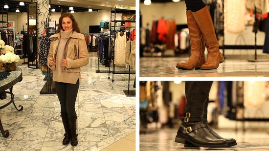 Winter Outfits With Flat Boots
