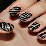 Zebra Nail Art Designs Ideas