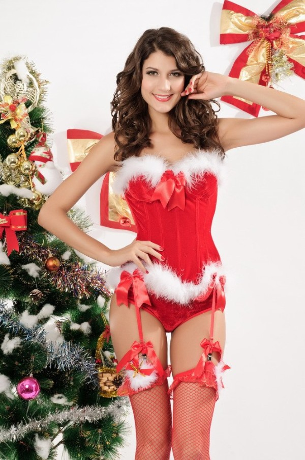 Santa Claus Costumes For Womens Merry christmas