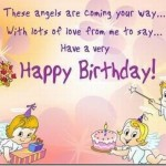 Birthday Wishes For Cute Angels