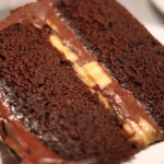 Mouth Watering Chocolate Cake Slice