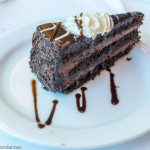 Chocolate Cake With Yummiest White Cream and Black Chocolate