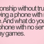 Relationship and Trust Quotes