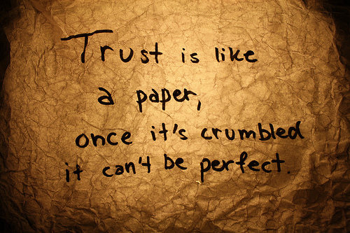 Touching Trust Quotes for Lesson