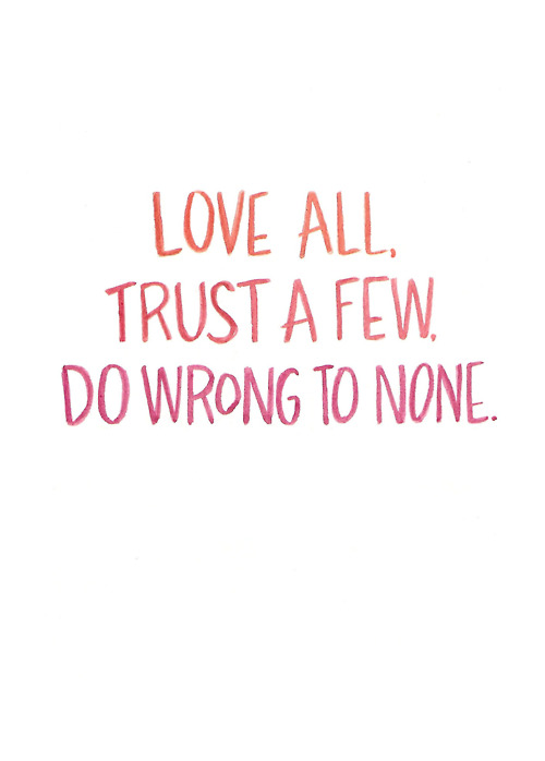 Cute and Simple Love Trust Quotes
