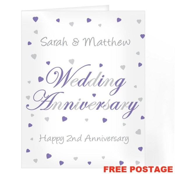 2nd Wedding Anniversary Wishes