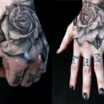 Eye Catching Free Black Rose Tattoo Art
