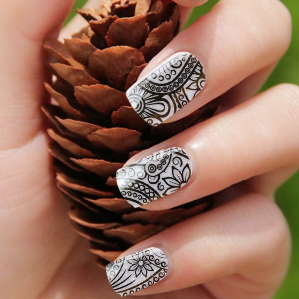 black-flower-design-white-glitter-base-nail-art-effect-decal-stickers_001