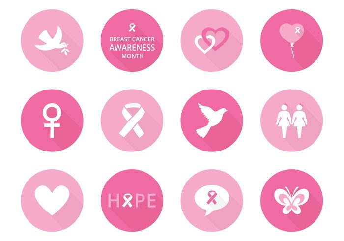 free-breast-cancer-awareness-vector-icons