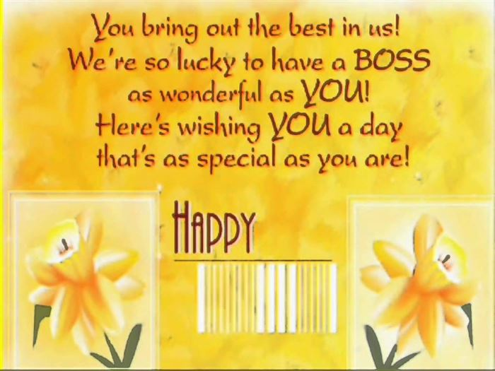 Inspirational Happy Boss's Day Quotes   ImpFashion   All News