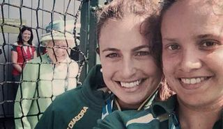 A photobomb of royal proportions