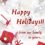 wishing you a happy holiday