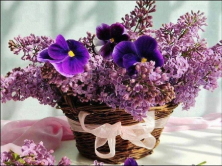 Basket-Of-Flowers