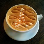 coffee art swirl