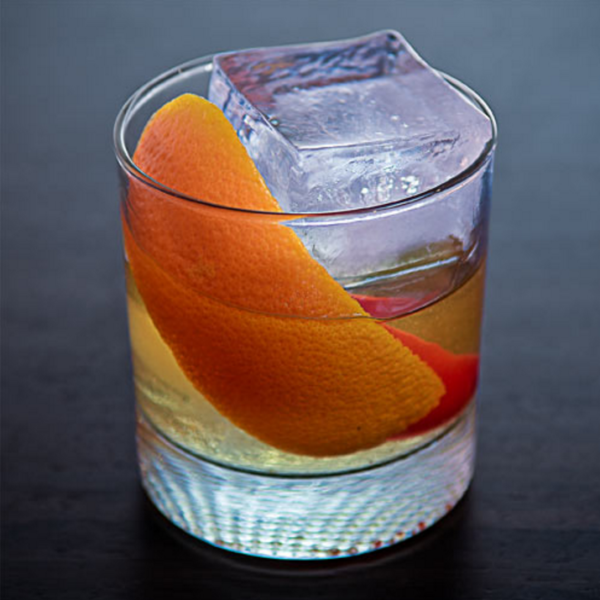 Spiced Old Fashioned cocktail drink