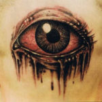 Amazing 3D Eye Tattoo