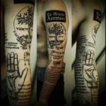 Amazing 3 Boys Arm Tattoo