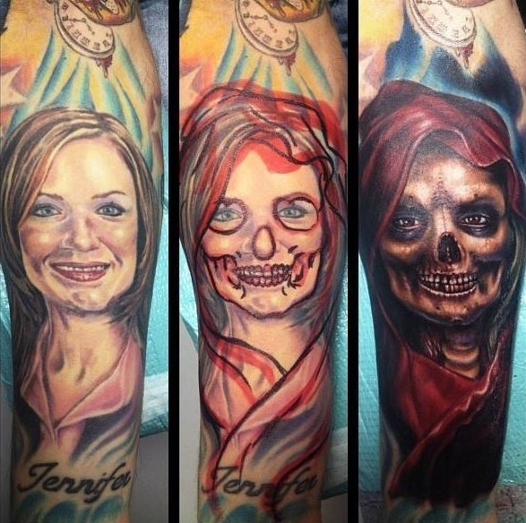 Horrible Females Cover Tattoo