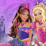 Barbie Doll Friendship With Flowers