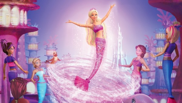 Princess Pink Mermaid Barbie
