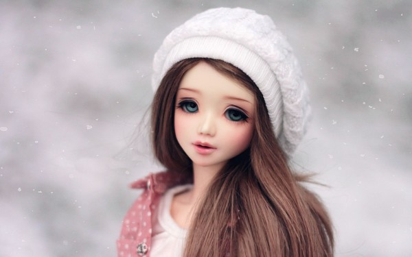Winter Season Long Hair Barbie Hair Ideas
