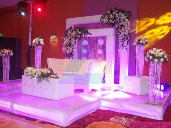 Exclusive Wedding Stage HD Wallpaper