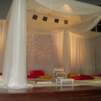 Beautiful Wedding stage Decoration HD Wallpapers