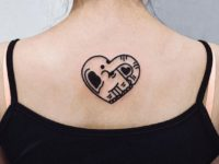 Cool Cartoon Elephant Tattoo On The Back Impfashion All News About Entertainment