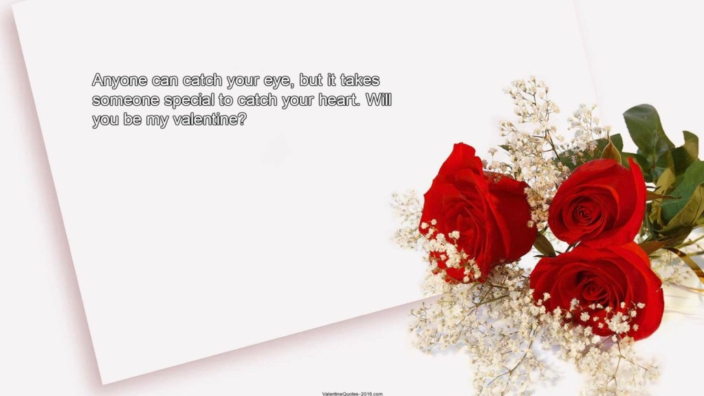 Be My Valentine Quotes For Him