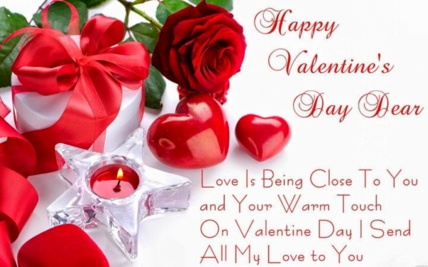 valentine wishes for Girl friend