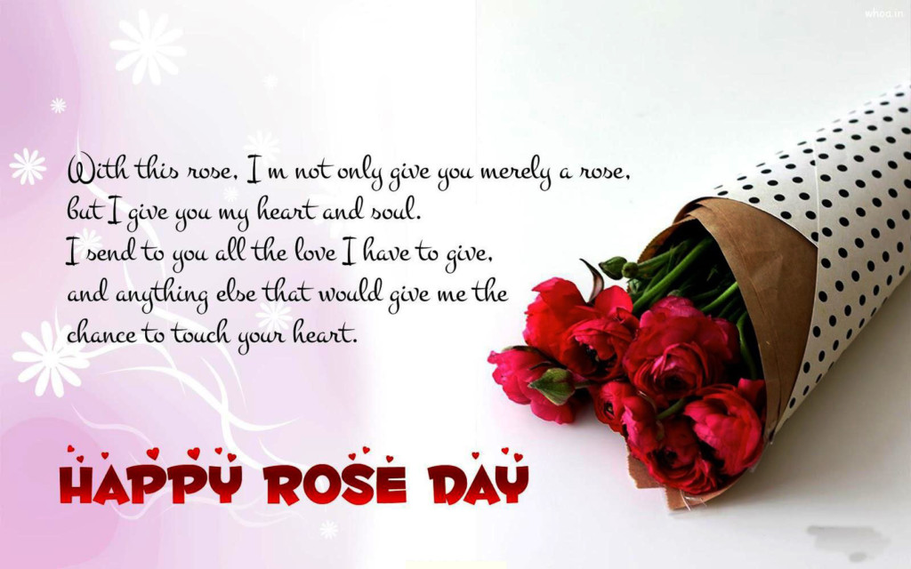 Romantic Valentine and Rose Day Greetings