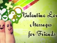 friends valentine love message