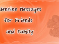 valentine message friends and family