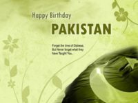 Happy Birthday Pakistan!